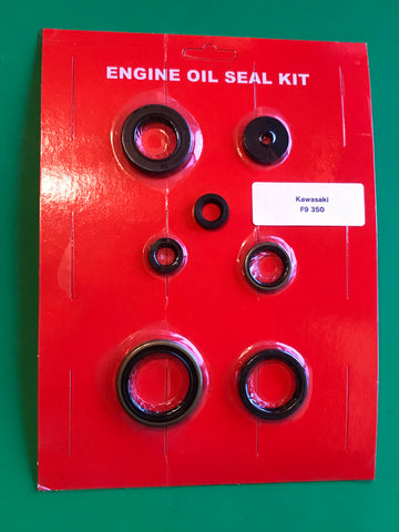 Kawasaki F9 Oil Seal Kit Bighorn 350 1972 1973 1974 1975 Engine Crank Clutch Kick Shift +