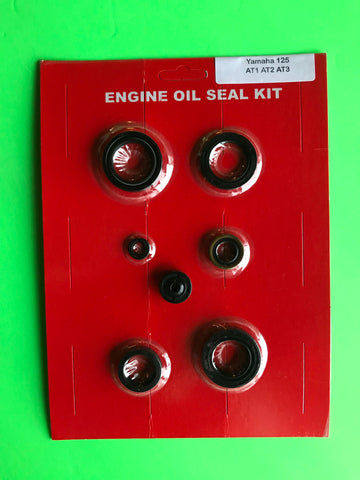 Yamaha AT125 Oil Seal Kit AT1 AT2 AT3 Engine AT 125 1969 1970 1971 1972 1973 Crank Shift Clutch Kick