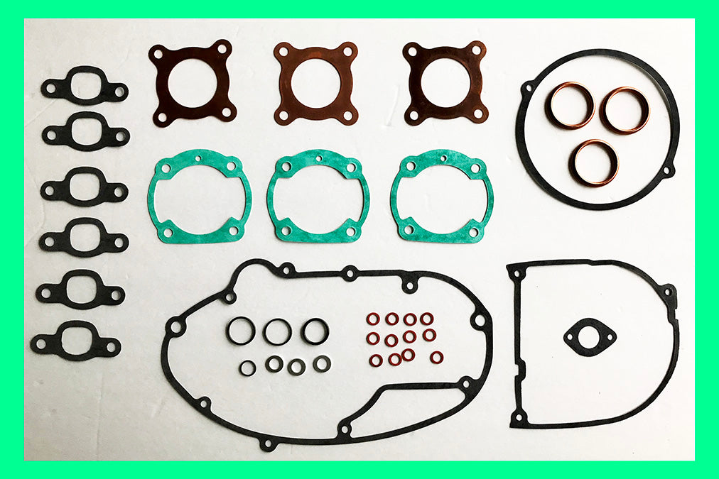 Kawasaki S1 KH250 250 Triple Engine Gasket Set 1972 1973 1974 1975 1976 1977 1978 1979 1980