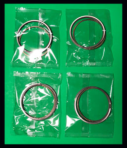 Kawasaki KZ1000 Piston Rings Set x4 STD 1981 1982 1983 - 1986 13008-5035