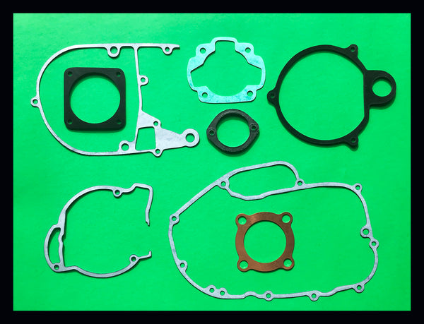Kawasaki F7 175 Engine Rebuild Gasket Kit Set 1971 1972 1973 1974 1975