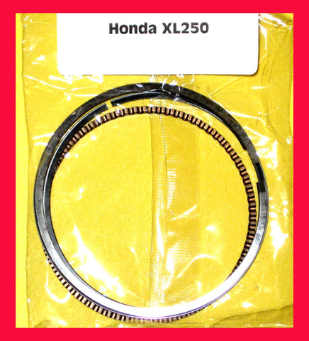 Honda XL250 Piston Ring Set Standard ( STD.) size 1972 1973 1974 1975 1976 1977 #13011-329-005