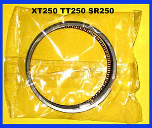 Yamaha XT250 TT250 Piston Ring Set SR250 1980 1981 1982 1983 250 STANDARD