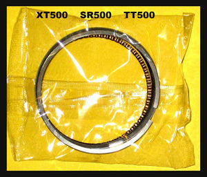Yamaha XT500 TT500 SR500 STD. Piston Rings Set 1976 1977 1978 1979 1980 1981-84!