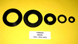 Yamaha RD250 RD 250 Oil Seal Kit! 1972 1973 1974 1975