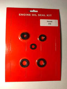 Honda Z50 Engine Crankcase Oil Seal Kit 1970 1971 1972 1973 1974 1975-81