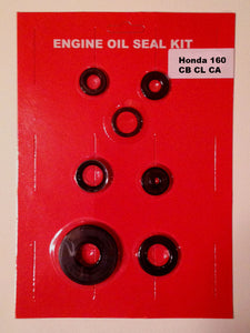 Honda CB160 CL160 CA160 160 Engine Oil Seal Kit 7 pcs.