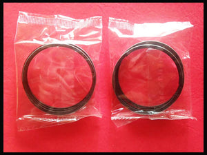 Vintage Honda CB200 CL200 Piston Ring X 2 set 1974 1975 1976 CB200T Motorcycle!