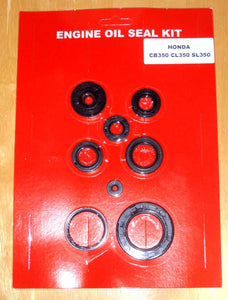 HONDA CB350 CL350 SL350 Motorcycle Engine OIL SEAL KIT