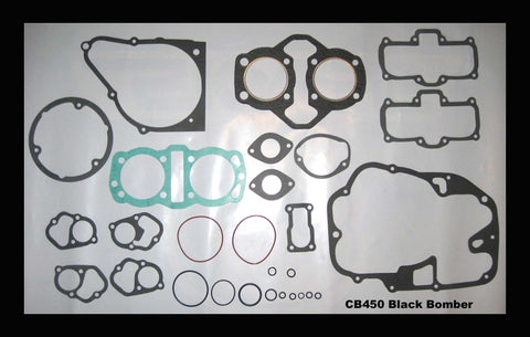 Honda 450 Motorcycle CB450 Black Bomber Engine Gasket Set 1965 1966 1967