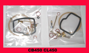 Honda CB450 CL450 Carburetor Carb Rebuild Kit x 2 sets! 1968 1969 1970 1971