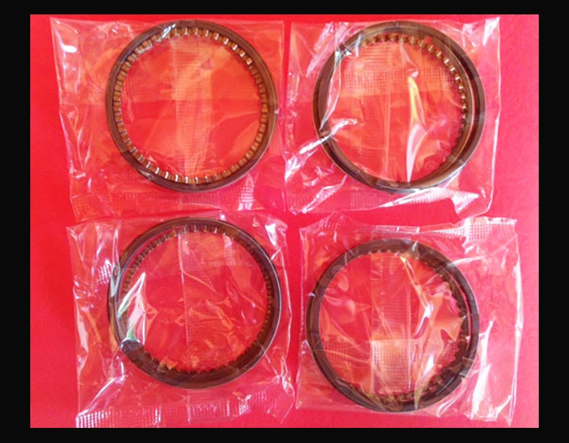 Honda CB750 Big Bore Piston Rings x4 sets! 836cc 65mm 1969-1976 Oversize rings