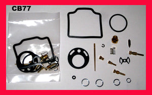 Honda 305 CB77 Superhawk Carburetor Carb Rebuild Kit x 2 sets! 1961-1968