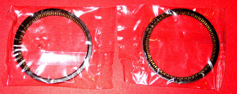 Honda CL77 305 Piston Ring Set x 2 Scrambler 1965 1966 1967 1968 Standard STD.