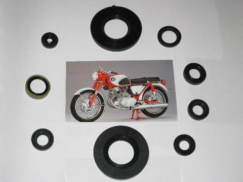 Honda 305 Oil Seal Kit CB77 Superhawk CB72 250 Engine ! 1961-1968