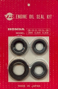 Honda CB100 CL100 SL100 OIL SEAL KIT