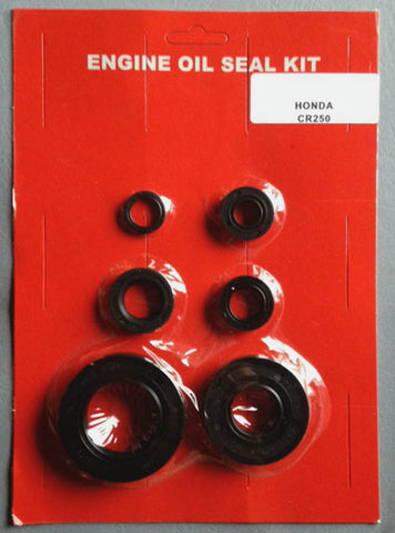 Honda Elsinore CR250 Crank Engine Oil Seal Kit! 1973 1974 250 Clutch Shift Kickstart Sprocket
