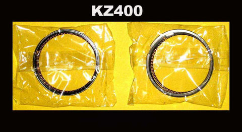 Kawasaki KZ400 Z400 Piston Rings Set x 2 STD size 1978 1979 1980 1981 1982 #13008-5019
