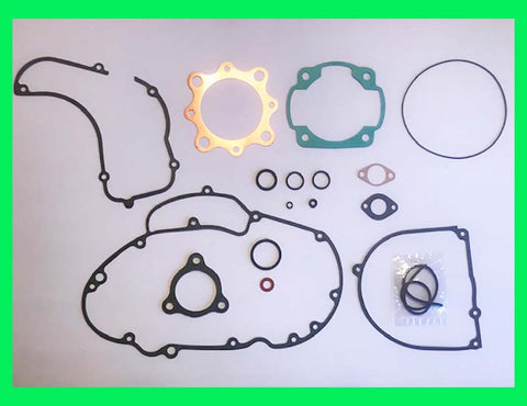 Kawasaki F5 & F9 Engine Gasket Set Bison 350 1970 1971 1972 1973 1974 1975