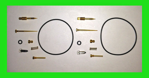 Kawasaki KZ400 Carburetor Carb Kit x2 sets Rebuild Kit Z400 1977 1978 1979 400