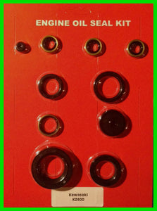 Kawasaki KZ400 Engine Oil Seal Kit - 1974 1975 1976 1977 1978 Z400 - Complete Set!