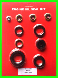 Kawasaki KZ440 Z440 Engine Oil Seal Kit! 1980 1981 1982 1983 1984 440 Motorcycle!