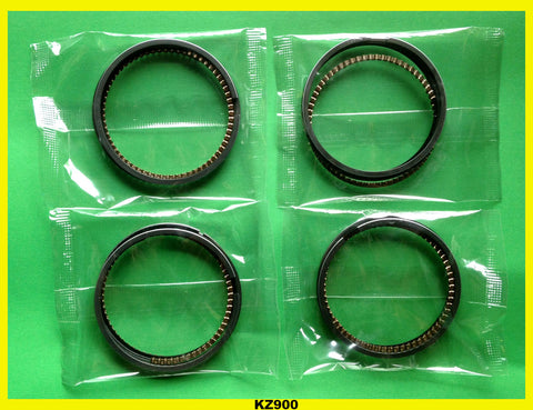 Kawasaki KZ900 Z1 Piston Ring Set x4 STD 1973 1974 1975 1976 1977 #13008-5005
