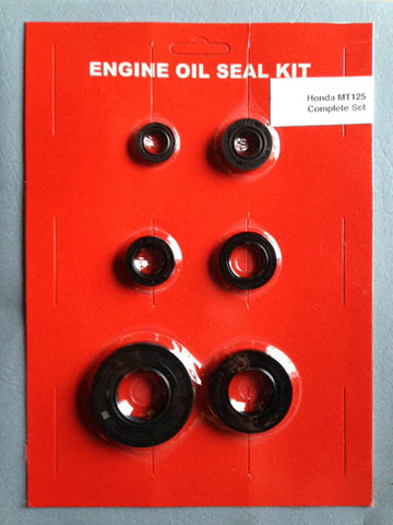 Honda Oil Seal Kit MT125 1973 1974 1975 for Elsinore Engine Crank Shift Kick Clutch