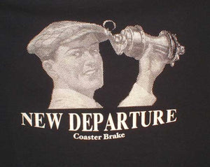 New Departure Coaster Brake! Vintage Bicycle Motorcycle - Shirt