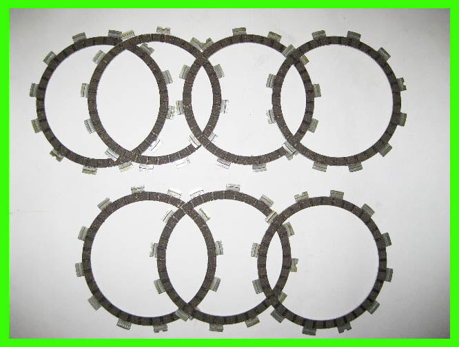 Yamaha DT360 DT400 1974 1975 1976 Clutch Friction Disc Kit 163-16321-10-00,  163-16321-10