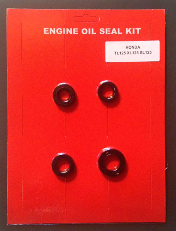 Honda TL125 XL125 SL125 Oil Seal Kit 1973 1974 1975 1976 for Engine Motorycle 125