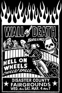 Wall of Death!  Vintage Motorcycle VL JD Flathead Shirt