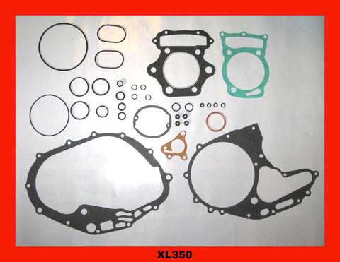 Honda XL350 Engine Gasket Set 1974 1975 1976 1977 1978 Complete