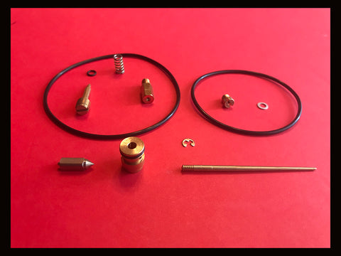 Honda XL350 Carburetor Carb Rebuild Kit - 1974 1975 1976 Enduro