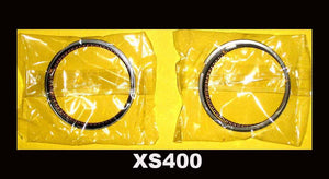 Yamaha XS400 Piston Rings Set x2 1977 1978 1979 1980 1981 STD. size SOHC