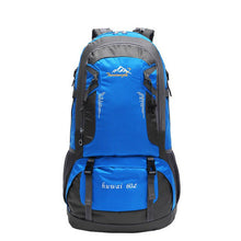 Load image into Gallery viewer, Brand 60L Outdoor Hiking Bag Camping Travel Waterproof Mountaineering Backpack For Travel Sport Hiking Bag 6 colors F3#W21