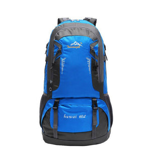 Brand 60L Outdoor Hiking Bag Camping Travel Waterproof Mountaineering Backpack For Travel Sport Hiking Bag 6 colors F3#W21