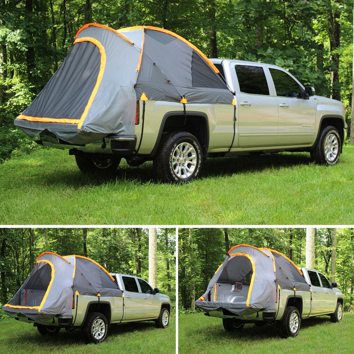 Pickup Truck Bed Tent Camping Outdoor Cover Canopy 210D Oxford Fabric 2 People