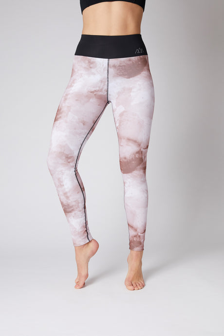 pink womens luxury thermal tights