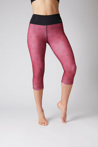 red thermal leggings to wear with good winter boots