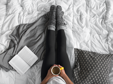 "Winterluxe ""Basics"" thermal tights. Black leggings"
