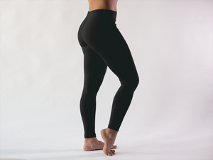 "Winterluxe ""Basics"" black therm tights. Free shipping in Australia"
