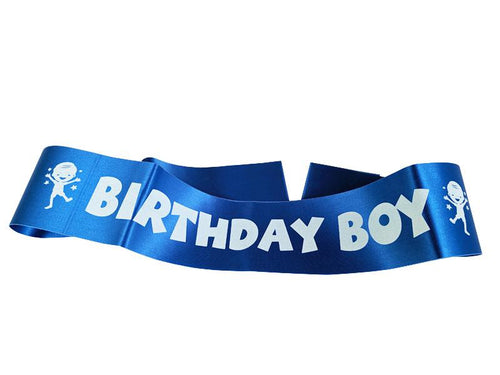 Birthday Boy Kids Sash - Blue Color - Instaparty.in