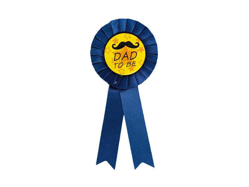 Dad To Be Badge - Blue Color - Instaparty.in