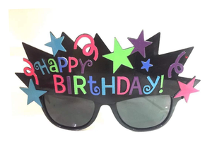 Happy Birthday Shades - Multi-color - Instaparty.in