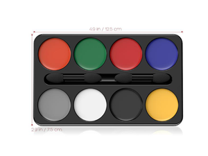 Horror Make Up Colors Palette - Halloween - Instaparty.in