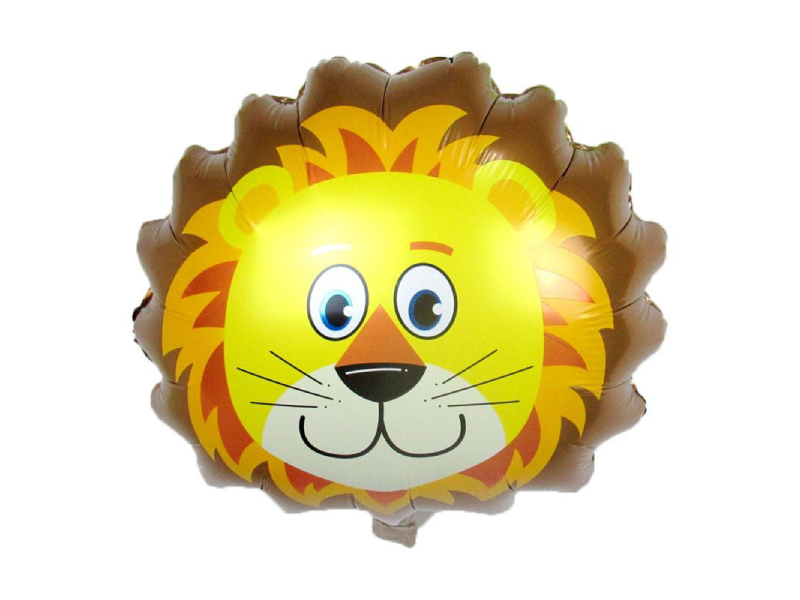 Lion Face Foil Balloon - Instaparty.in