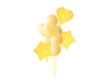 Load image into Gallery viewer, Pastel Foil Set Combo - Yellow Color - Instaparty.in