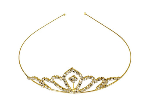 Princess Crown - Tiara - Gold Color - Instaparty.in