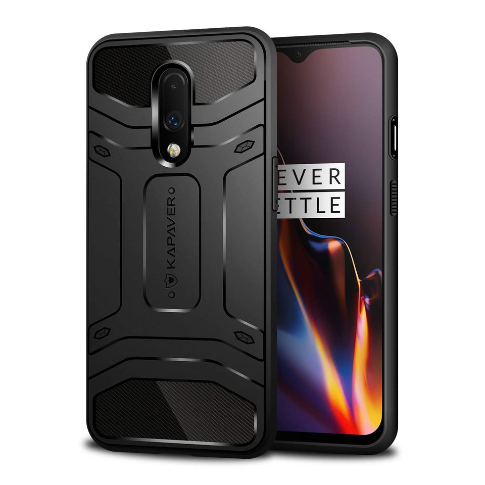 KAPAVER Rugged Case For OnePlus 7